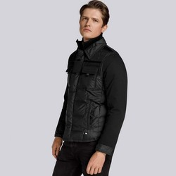 Men's jacket, black, 85-9D-351-1-M, Photo 1