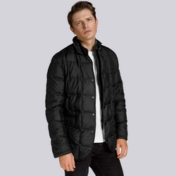 Men's jacket, black, 85-9D-352-1-S, Photo 1