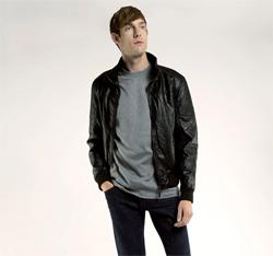 Men's jacket, black, 85-9P-350-1-XL, Photo 1