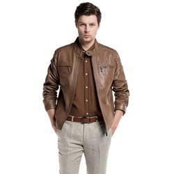 Kurtka męska, brązowy, 86-09-250-5-XL, Zdjęcie 1