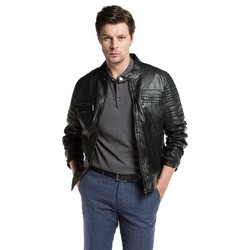 Men's jacket, black, 86-09-251-1-2XL, Photo 1