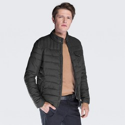 Men's jacket, black, 87-9N-450-1-L, Photo 1