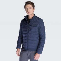 Men's jacket, navy blue, 87-9N-450-7-M, Photo 1