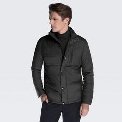Men's jacket, black, 87-9N-451-1-L, Photo 1