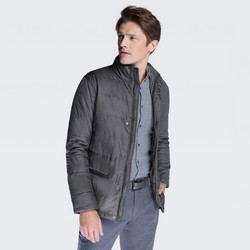 Men's jacket, grey, 87-9N-451-8-M, Photo 1