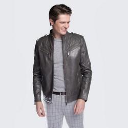 Men's jacket, grey, 88-09-253-8-XL, Photo 1