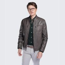 Men's jacket, grey, 88-09-254-8-2XL, Photo 1