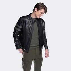 Men's jacket, black, 88-09-255-1-M, Photo 1