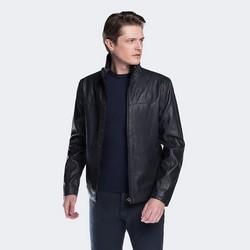 Men's jacket, navy blue, 88-09-256-7-M, Photo 1
