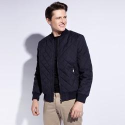 Men's jacket, navy blue, 90-9N-450-7-2XL, Photo 1