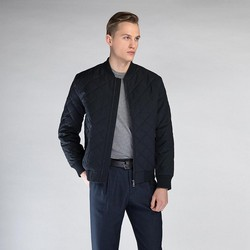 Men's jacket, navy blue, 90-9N-450-7-S, Photo 1