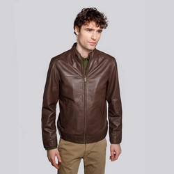 Jacket, brown, 92-09-650-4-S, Photo 1
