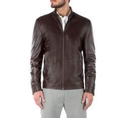 Men's jacket, dark brown, 81-09-953-4-2X, Photo 1