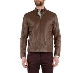 Men's jacket, brown, 82-09-550-4-XL, Photo 1