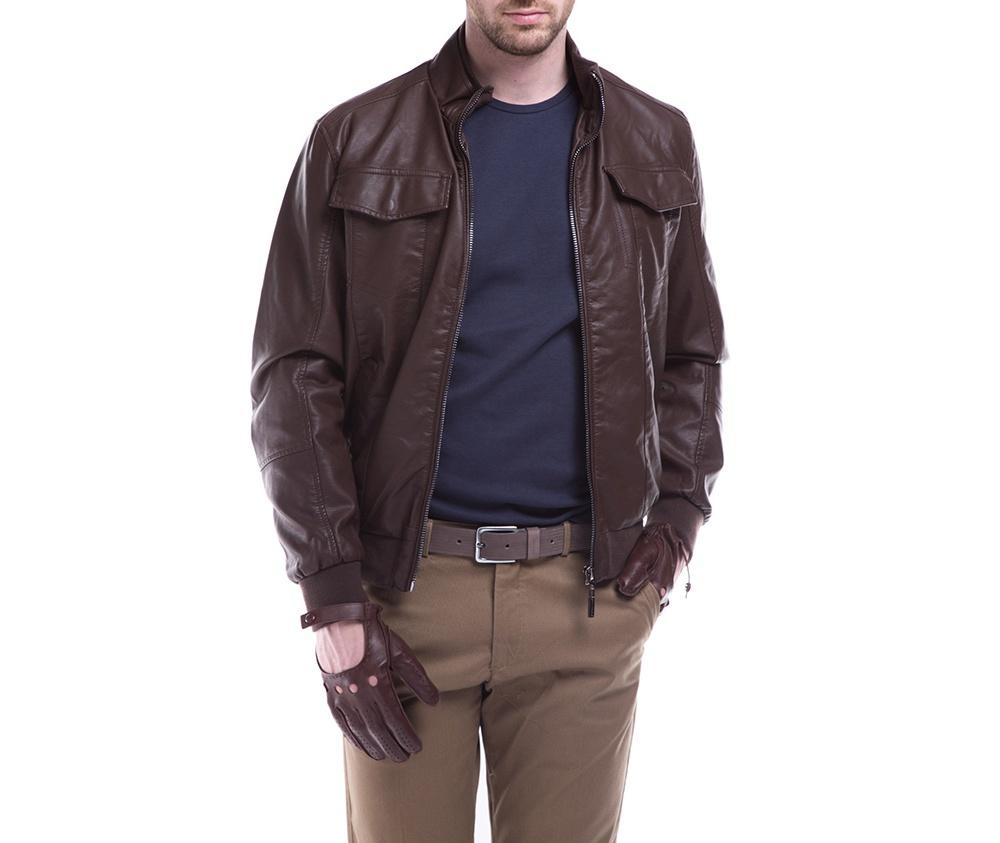 Куртка мужскаяКуртка мужская изготовлена из из высококачественных материалов. Застегивается на молнию. Воротник стойка на кнопке. Имеет 2 кармана внешних на молнии и внутренний карман на пуговице. Благодаря классическому крою , куртка идеально сочетается с многими стилями.<br><br>секс: мужчина<br>Размер INT: M