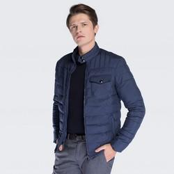 Men's jacket, navy blue, 87-9N-450-7-XL, Photo 1