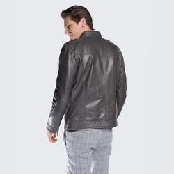 Men's jacket, grey, 88-09-253-8-2XL, Photo 1