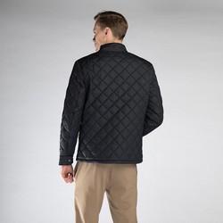 Męska kurtka pikowana, czarny, 90-9N-451-1-S, Zdjęcie 1