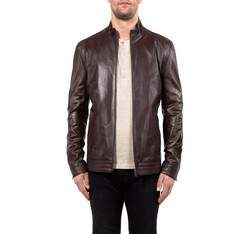 Men's jacket, brown, 80-09-957-5-S, Photo 1