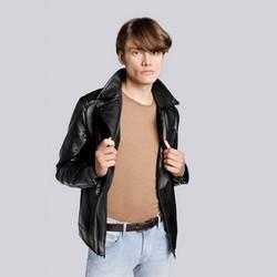 Biker jacket, black, 93-9P-112-1-3XL, Photo 1