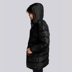 Męska kurtka zimowa z kapturem, czarny, 93-9D-451-1-L, Zdjęcie 1