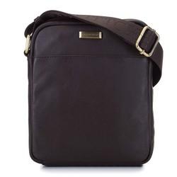 Men's small leather messenger bag, , 92-4U-303-4, Photo 1