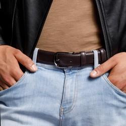 Belt, brown, 92-8M-367-4-10, Photo 1