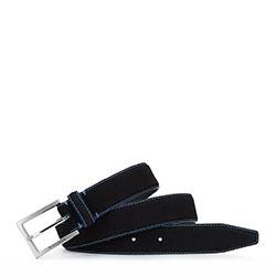 Belt, black-blue, 92-8M-380-1-12, Photo 1