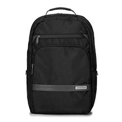"""Męski plecak na laptopa 15,6"""" z krytym suwakiem, czarny, 92-3P-105-1, Zdjęcie 1"""