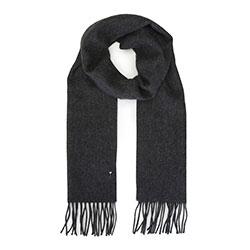 Men's scarf, graphite, 91-7M-X03-88, Photo 1