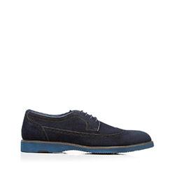 Shoes, navy blue, 92-M-515-7-39, Photo 1