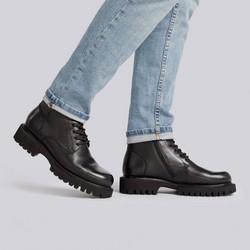 Shoes, black, 93-M-906-1-39, Photo 1