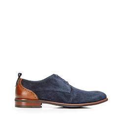 Shoes, navy blue, 92-M-512-7-43, Photo 1