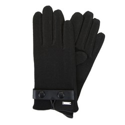 Men's gloves, black, 47-6-X93-1-U, Photo 1