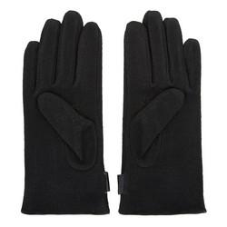 Męskie rękawiczki wełniane do smartfona, czarny, 47-6-X93-1-U, Zdjęcie 1