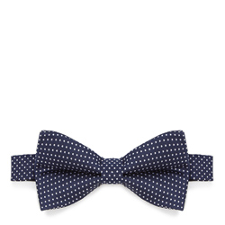 Bow tie, navy blue, 87-7I-001-7, Photo 1