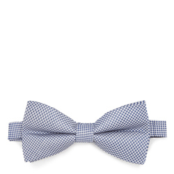 Bow tie, blue-white, 87-7I-001-X2, Photo 1