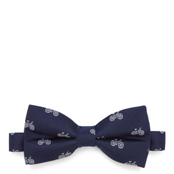 Bow tie, navy blue-white, 87-7I-001-X5, Photo 1