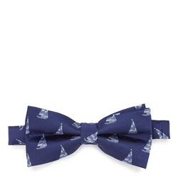 Bow tie, navy blue-blue, 87-7I-001-X6, Photo 1