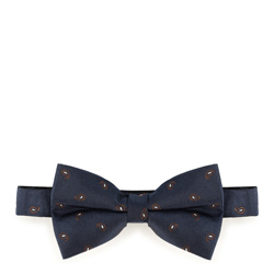 Bow tie, navy blue, 89-7I-001-X1, Photo 1