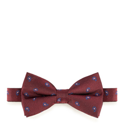 Bow tie, burgundy, 89-7I-001-X3, Photo 1