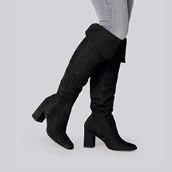 Shoes, black, 93-D-755-1-35, Photo 1