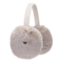 Women's earmuffs, beige, 91-HF-002-9, Photo 1