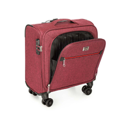 Wheeled laptop case, burgundy, 56-3S-505-31, Photo 1