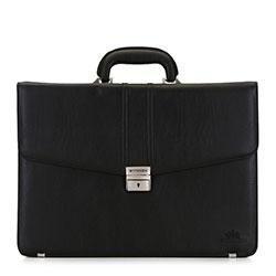 Torba na laptopa z metalowymi nóżkami, czarny, 29-3-634-1, Zdjęcie 1