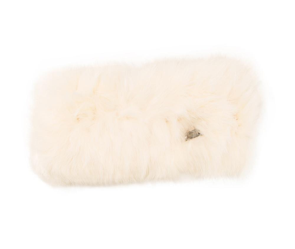 Повязка женскаяПовязка женская<br><br>секс: женщина<br>Цвет: белый<br>материал:: Мех шерстяной<br>ширина (см):: 10