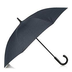 Semi-automatic umbrella with logo, navy blue-grey, PA-7-152-X5, Photo 1