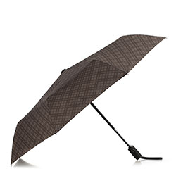 Small automatic umbrella, grey-brown, PA-7-154-X7, Photo 1