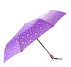 Parasol, fioletowo - biały, PA-7-162-X2, Zdjęcie 1