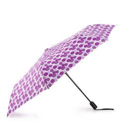 Parasol, fioletowo - biały, PA-7-163-X2, Zdjęcie 1